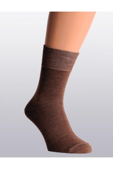 Носки из верблюжьей шерсти, темно-коричневые
