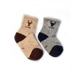 Детские носки из шерсти яка монголия
