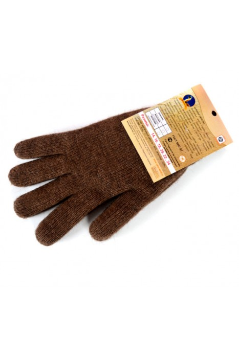Перчатки вязаные из верблюжьей шерсти DOCTOR TM