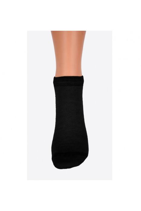 Носки укороченные из овечьей шерсти цвет черный SOFT DOCTOR TM