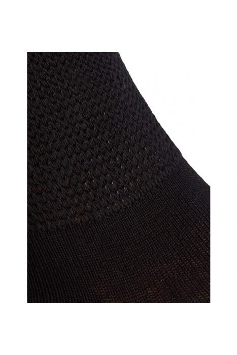 Носки из хлопка на полную ногу Doctor TM черные