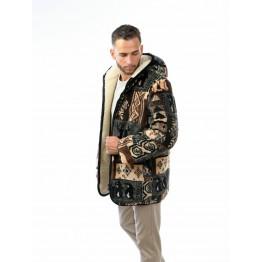 Куртка двойная АРКТИКА коричневая