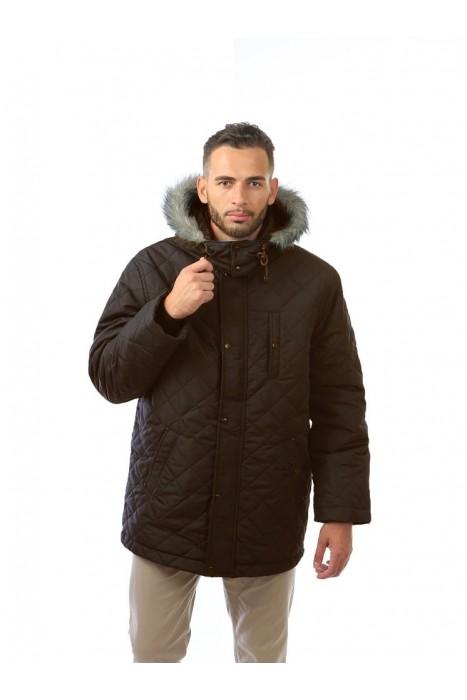 Куртка двойная АЛЯСКА коричневый