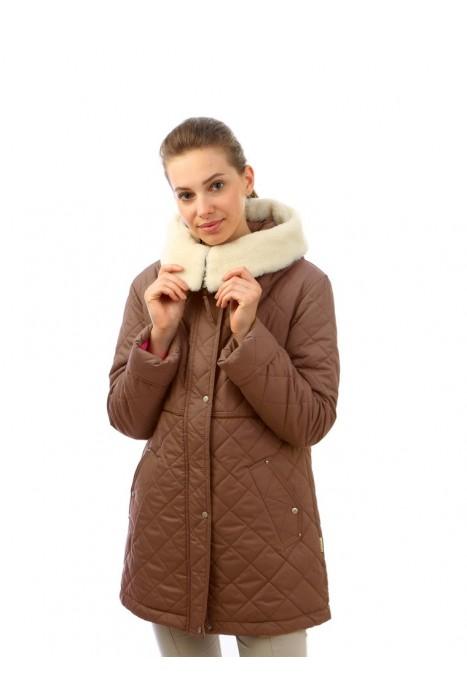 Куртка двойная ВИА ЛАТТЕА коричневый крайола