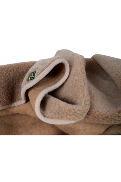 Плед из верблюжьей шерсти DOCTOR TM 145х205