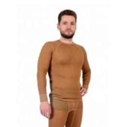 Термобелье  - фуфайка мужская однослойная из верблюжьей шерсти