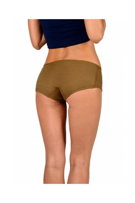 Согревающее белье Doctor TM - трусы женские из верблюжьей шерсти с низкой талией
