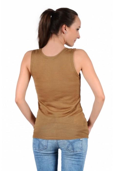 Согревающее белье Doctor TM - майка женская из верблюжьей шерсти